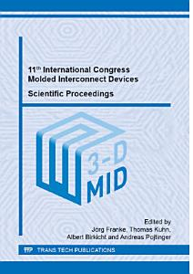 11th International Congress Molded Interconnect Devices    Scientific Proceedings