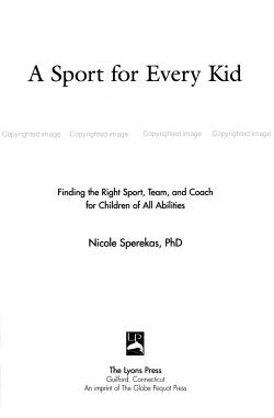 A Sport for Every Kid PDF