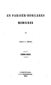 En pariser-porgares momoirer: Volumes4à6
