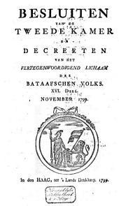 Besluiten van de Tweede Kamer en decreeten van het Vertegenwoordigend Lichaam des Bataafschen Volks: Volume 9