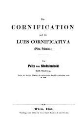 Die Cornification und die Lues Cornificativa, etc