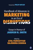 Handbook of Advances in Marketing in an Era of Disruptions PDF