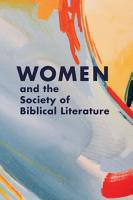 Women and the Society of Biblical Literature PDF