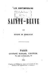 Sainte-Beuve