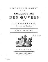 Collection complète des oeuvres de J.J. Rousseau, citoyen de Genève: Volume16