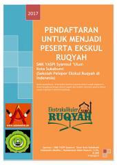 Pendaftaran Untuk Menjadi Peserta Ekskul Ruqyah