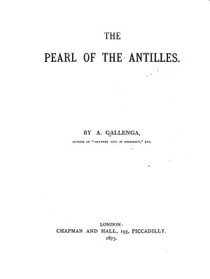 The Pearl of the Antilles PDF