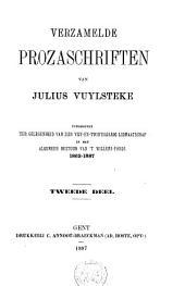 Verzamelde prozaschriften: Volume 2