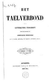 Het taelverbond: letterkundig tijdschrift, Volume 7