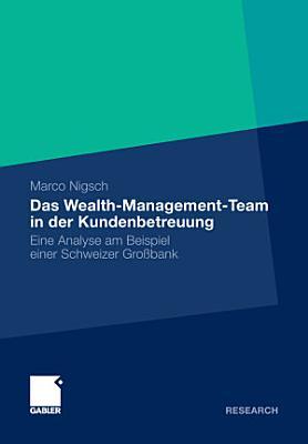 Das Wealth Management Team in der Kundenbetreuung PDF