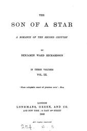 The Son of a Star: A Romance of the Second Century, Volume 3