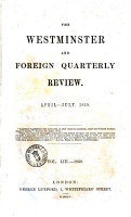 The Westminster and Foreign Quarterly Review PDF
