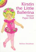Kirstin the Little Ballerina Sticker Paper Doll PDF