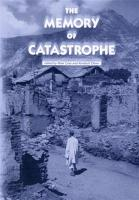 The Memory of Catastrophe PDF