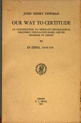 Our Way To Certitude Book PDF