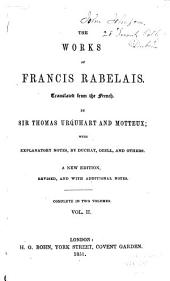 The Works of Francis Rabelais: Volume 2