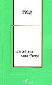 Islam de France Islams d'Europe