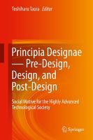 Principia Designae   Pre Design  Design  and Post Design PDF