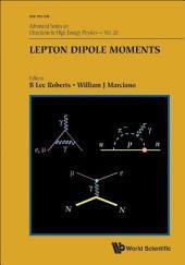 Lepton Dipole Moments