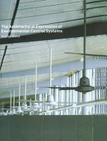 The Architectural Expression of Environmental Control Systems PDF