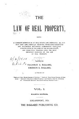 The Law of Real Property PDF