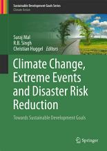 Climate Change  Extreme Events and Disaster Risk Reduction PDF
