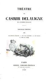 Théatre de Casimir Delavigne: Les enfants d'Edouard