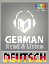 German phrase book | Read & Listen | Fully audio narrated (51002): 20 chapters, over 2.5 hours of audio recording