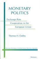 Monetary Politics PDF
