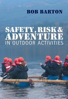 Safety  Risk and Adventure in Outdoor Activities PDF