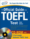 The Official Guide to the TOEFL iBT with CD ROM  Third Edition PDF