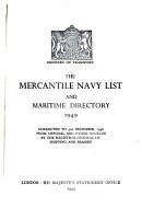 The Mercantile Navy List PDF