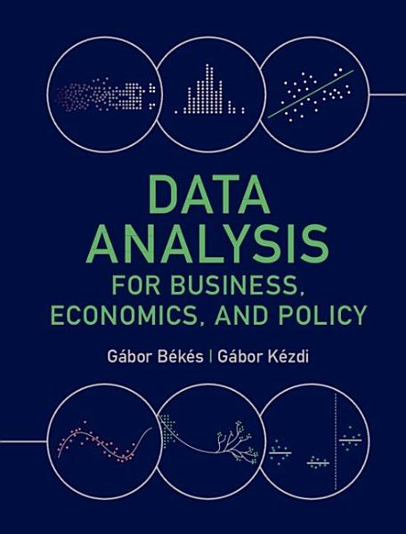 Download Data Analysis for Business  Economics  and Policy Book