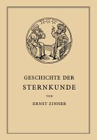 Die Geschichte der Sternkunde PDF