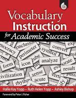 Vocabulary Instruction for Academic Success (ePub 3)