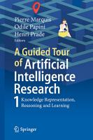 A Guided Tour of Artificial Intelligence Research PDF