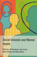 Social Inclusion and Mental Health PDF