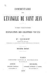 Commentaire sur l'Évangile de Saint Jean: Volume3