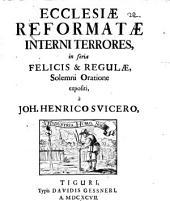 Ecclesiae reformatae interni errores: solenni oratione expositi