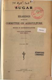Sugar: Hearings Before ..., 66-3, January, 1921