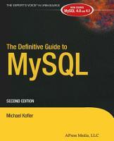 The Definitive Guide to MySQL PDF