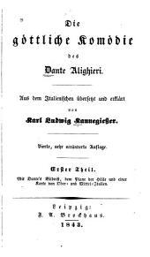 Die Göttliche komödie des Dante Alighieri: Bände 1-3