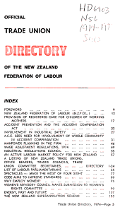 Official Trade Union Directory PDF