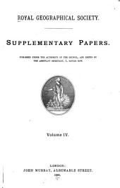 Supplementary Papers: Volume 4