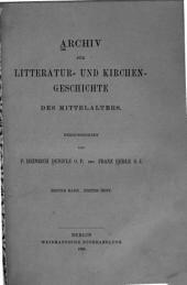 Das Evangelium aeternum und die Commission zu Anagni