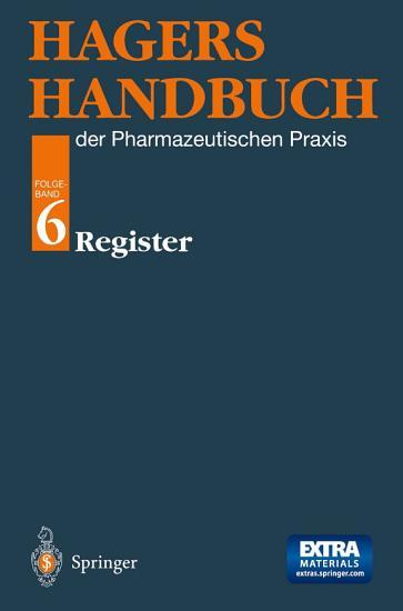 Hagers Handbuch der Pharmazeutischen Praxis PDF
