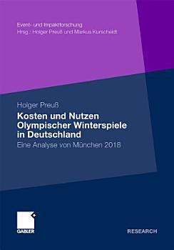 Kosten und Nutzen Olympischer Winterspiele in Deutschland PDF