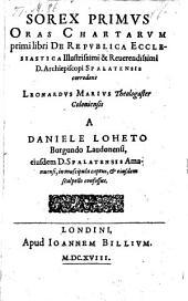 Sorex primus, oras chartarum primi libri de republica ecclesiastica ... corrodens, Leonardus Marius ... in muscipula captus et eiusdem scalpello confoseus