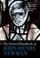 The Oxford Handbook of John Henry Newman PDF