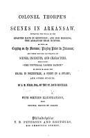 Major Thorpe s Scenes in Arkansaw     PDF